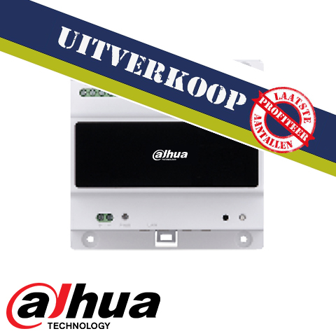 Dahua 2-wire Video Intercom controller (excl. voeding !)