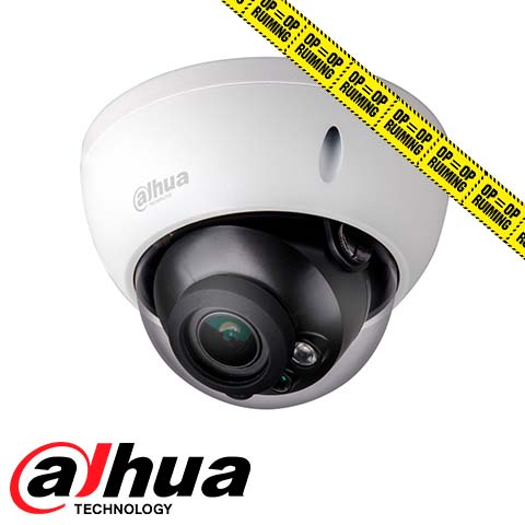 2MP IR-dome HDCVI camera motorized varifocal lens