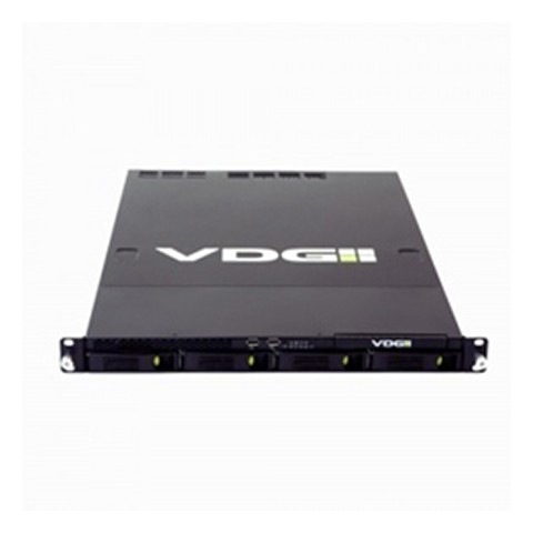 "Sense video server 19"" 2TB + basic license + 4 x video channel license"